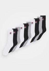 Fila - TENNIS SOCKS 9 PACK UNISEX  - Calcetines - black/white/grey - 0