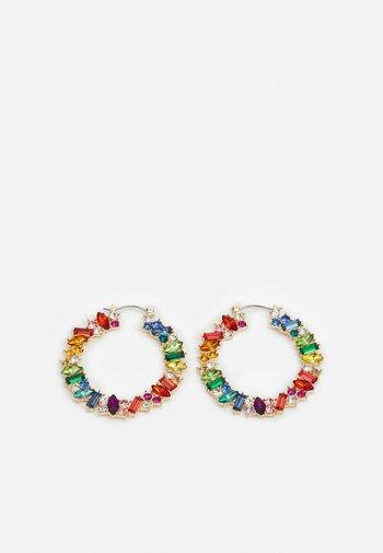 PCCAMMI HOOP EARRINGS - Earrings - gold-colored