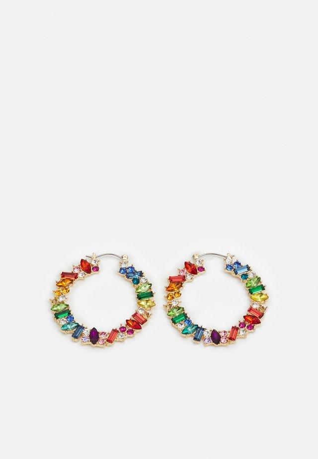 PCCAMMI HOOP EARRINGS - Orecchini - gold-colored