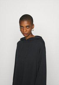 Anna Field - Wide Sleeve Long Hoodie - Hoodie - black - 4
