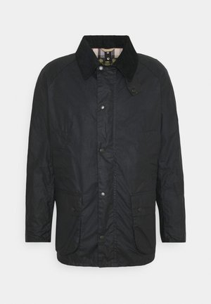 LIGHTWEIGHT ASHBY WAX - Short coat - royal navy