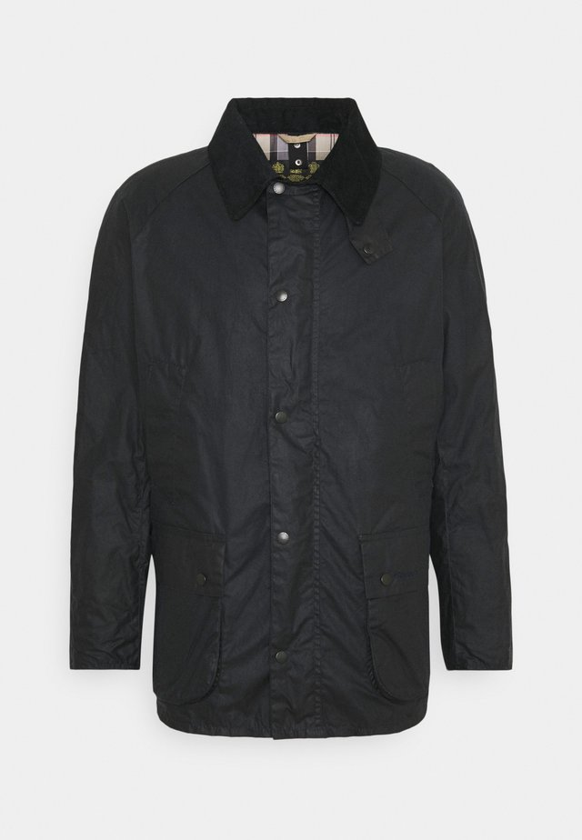 LIGHTWEIGHT ASHBY WAX - Short coat - royal navy