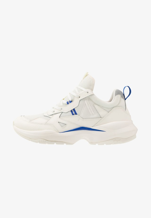 QUANTM T-G9 - Sneakers basse - offwhite/dazzling blue