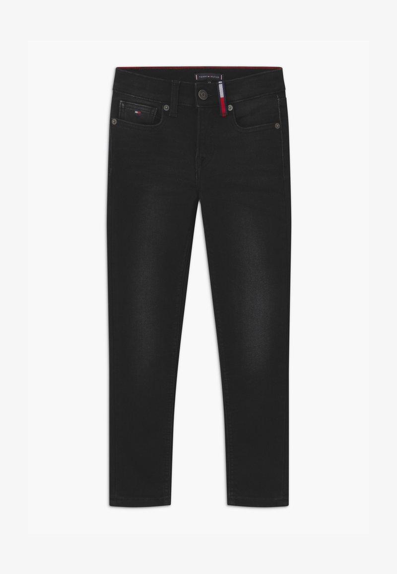 Tommy Hilfiger - SPENCER BRUSHED  - Slim fit jeans - black denim