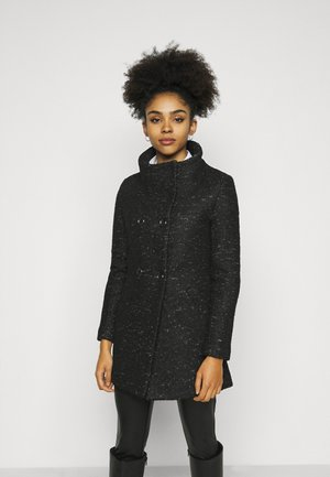 ONLNEWSOPHIA COAT - Short coat - black/melange