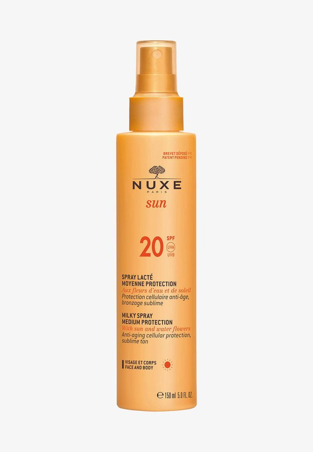 SUN MILKY SPRAY FOR FACE AND BODY - MEDIUM PROTECTION SPF20 - Skincare tool - -