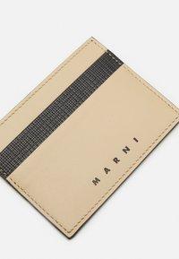 Marni - WALLET UNISEX - Wallet - black/cement - 4