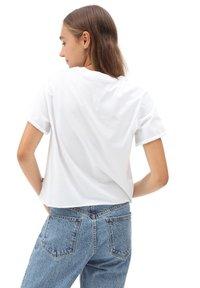 Vans - WM ZEN PATIO - Print T-shirt - white - 1