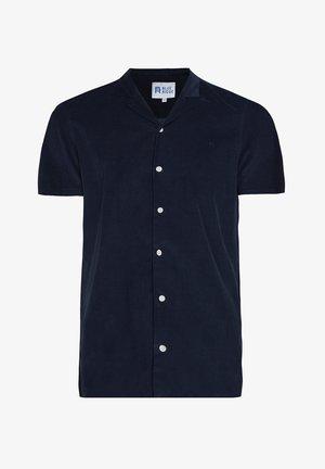 WE FASHION HERREN-CORDHEMD IM BOXY-FIT - Overhemd - dark blue