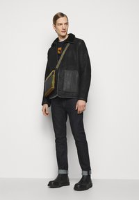 PS Paul Smith - JACKET - Leather jacket - black - 1