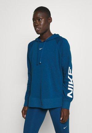 Hoodie - court blue/white
