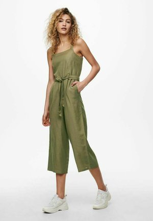 Jumpsuit - covert green