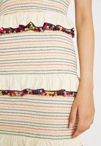 Never Fully Dressed - POM POM RAINBOW DRESS - Day dress - multi coloured - 4