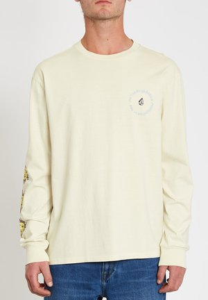OZZY WRONG TEE - T-shirt à manches longues - off_white