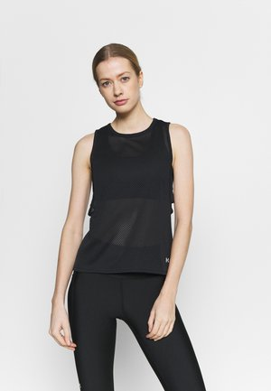 MUSCLE TANK - Sports shirt - black