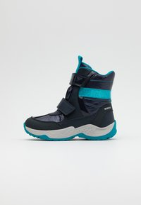 Geox - SENTIERO GIRL - Winter boots - navy/azure - 0