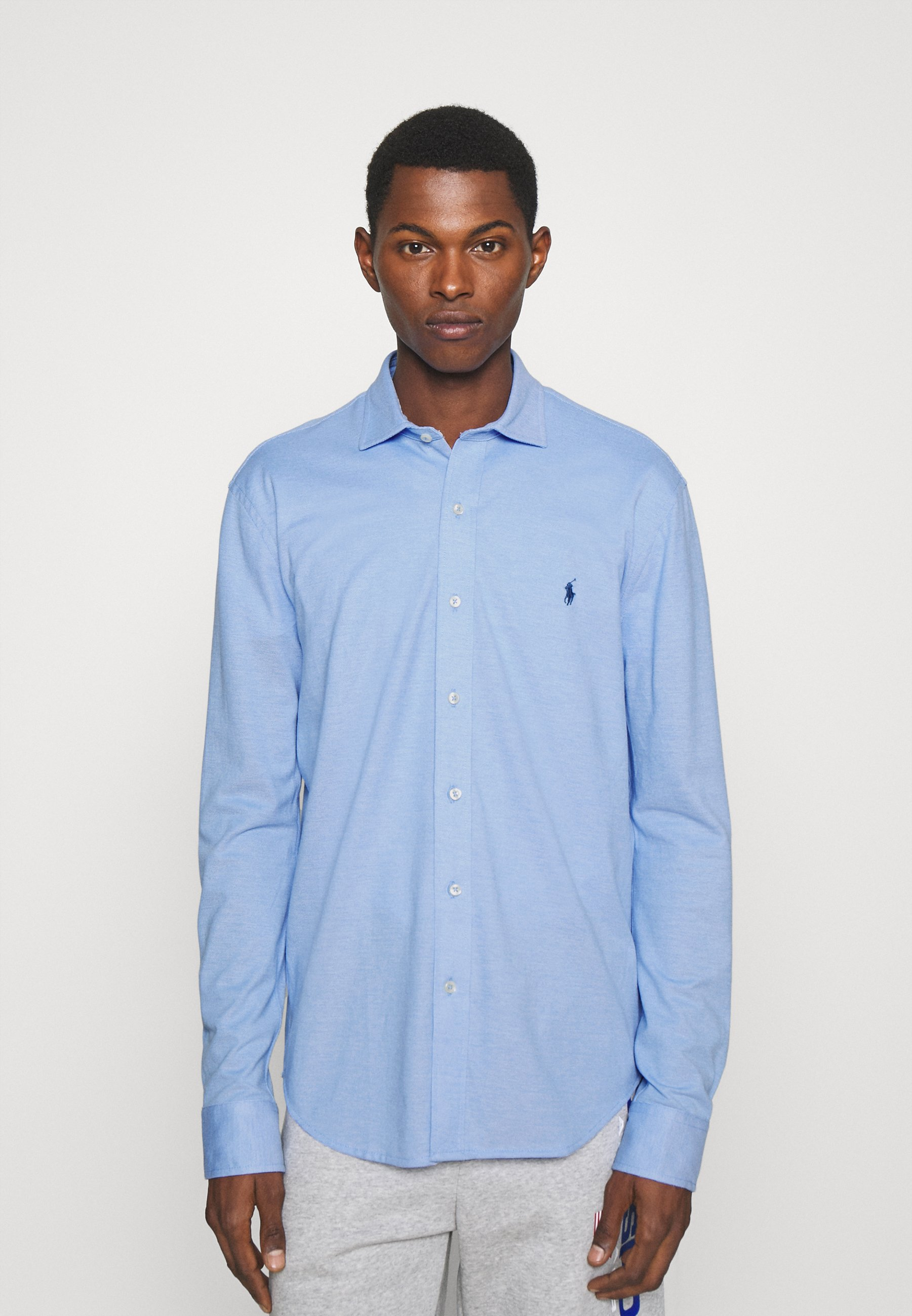 Homme KNIT OXFORD SHIRT - Chemise
