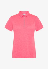 Callaway - SHORT SLEEVE 1/4 ZIP - Sports shirt - camella rose heather - 3