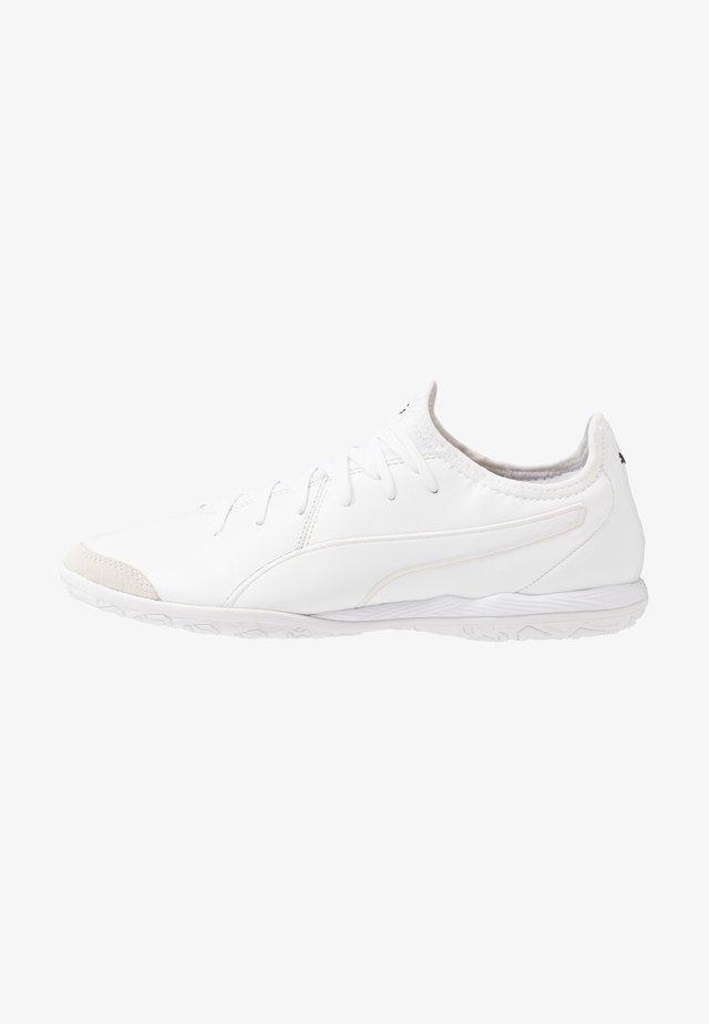 KING PRO - Indendørs fodboldstøvler - white