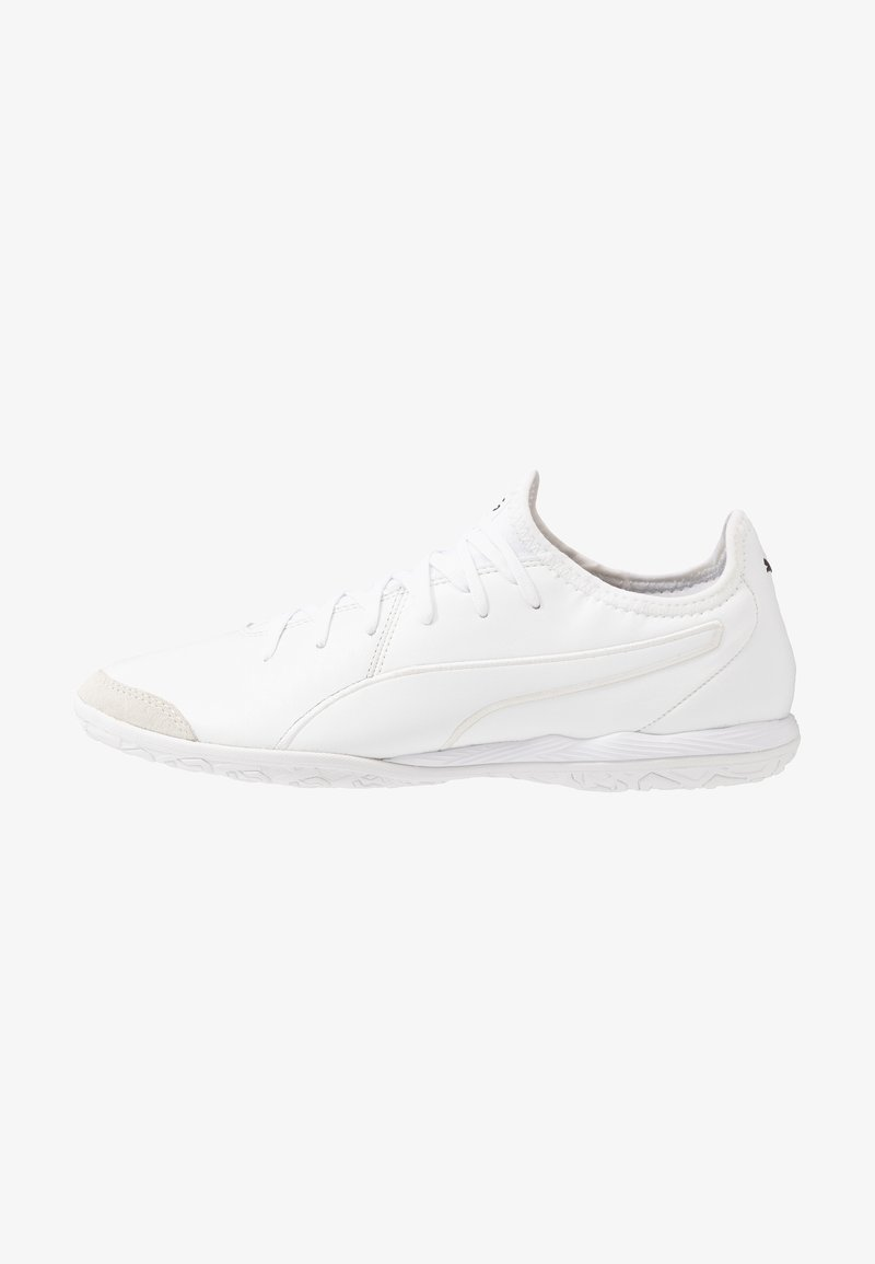 Puma - KING PRO - Indoor football boots - white
