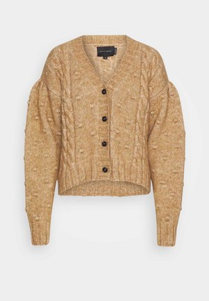 ELLINOR  - Cardigan - camel