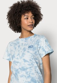 The North Face - NATURAL DYE TEE - T-shirt med print - tourmaline blue - 3