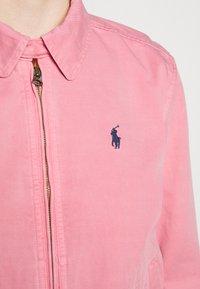 Polo Ralph Lauren - MONTAUK - Džínová bunda - ribbon pink - 5