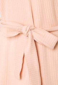 Missguided - TIE WAIST SET - Leggings - Trousers - nude pink - 5