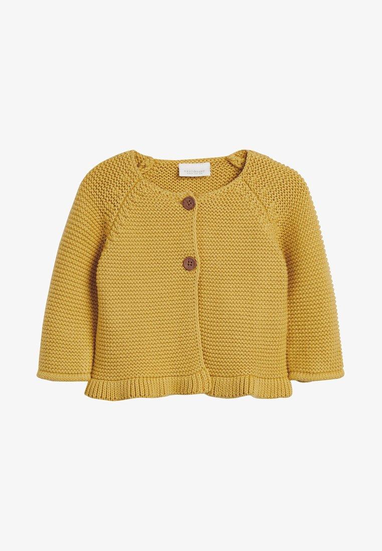 Next - PINK FRILL HEM - Cardigan - yellow