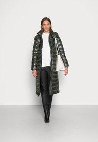 Calvin Klein - LOFTY COAT - Down coat - dark olive - 1