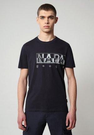 SALLAR LOGO - Print T-shirt - blu marine