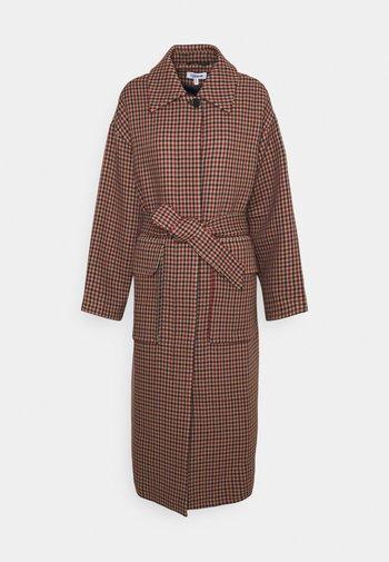AILEEN COAT - Cappotto classico - beige/red