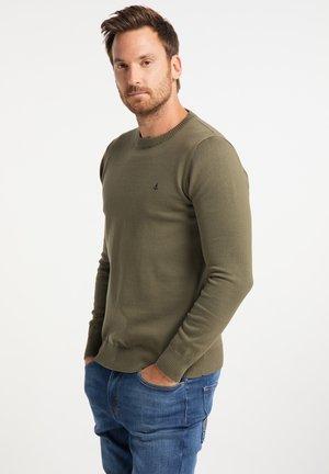 Sweatshirt - militär oliv