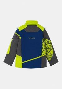 Spyder - CHALLENGER - Ski jacket - dark grey/neon green/blue - 2