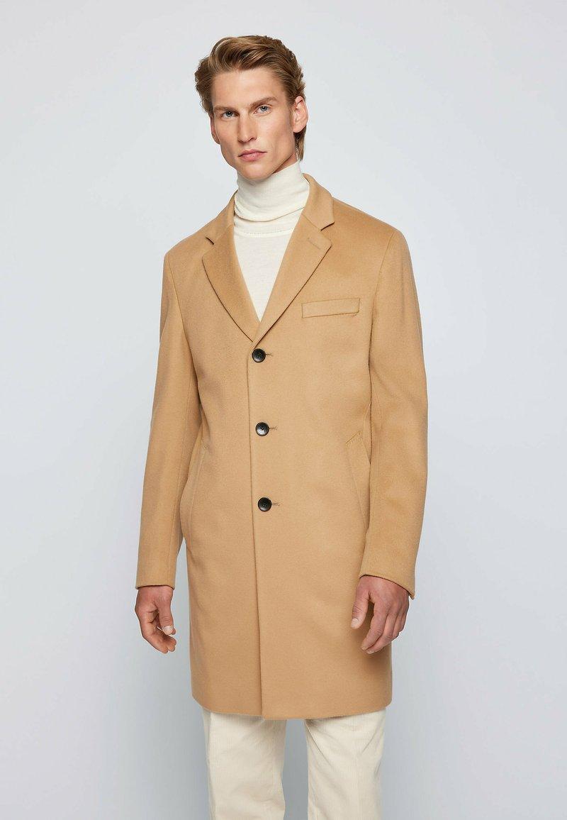 BOSS - H-HYDE - Classic coat - beige
