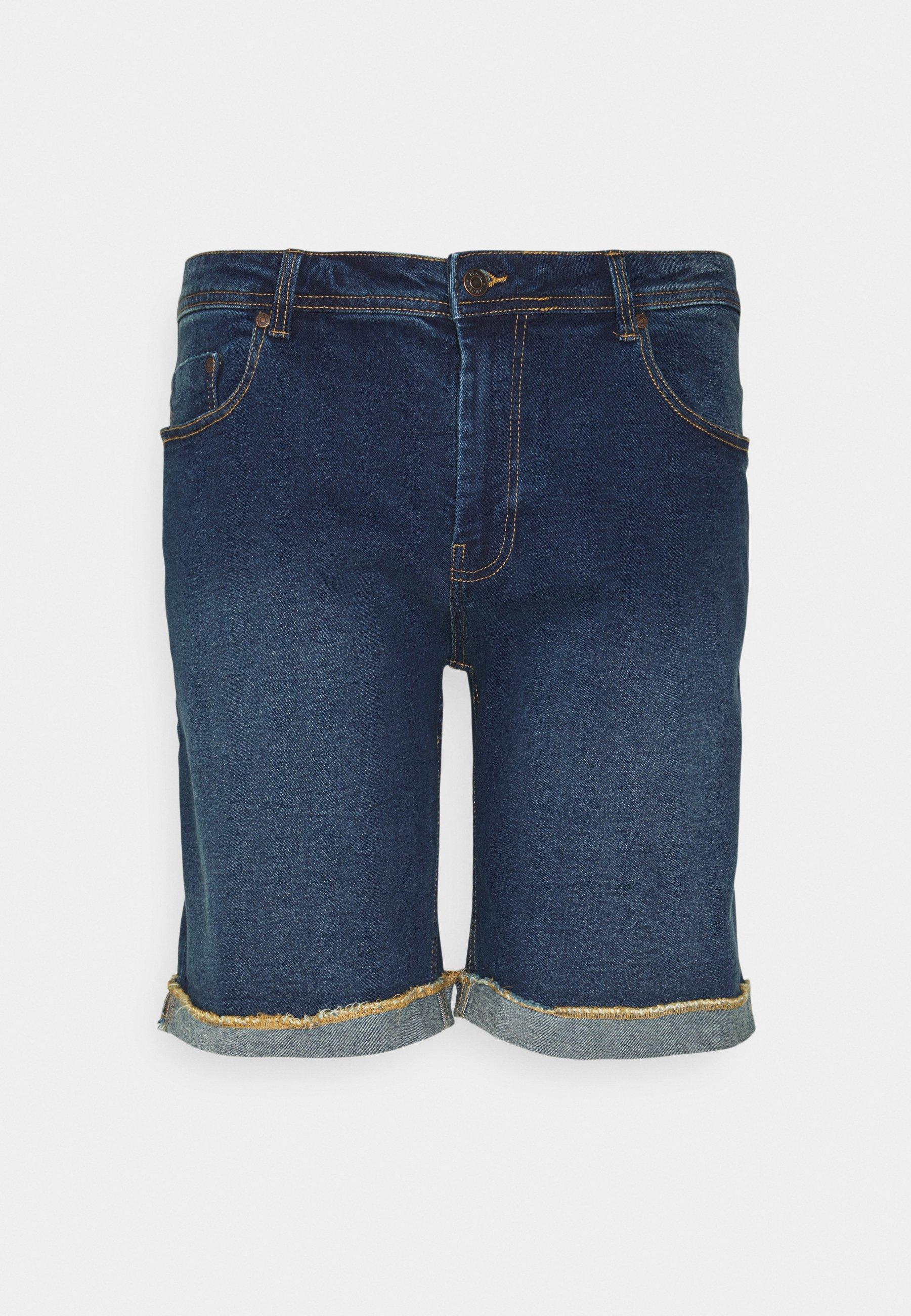 Men MR ORANGE - Denim shorts