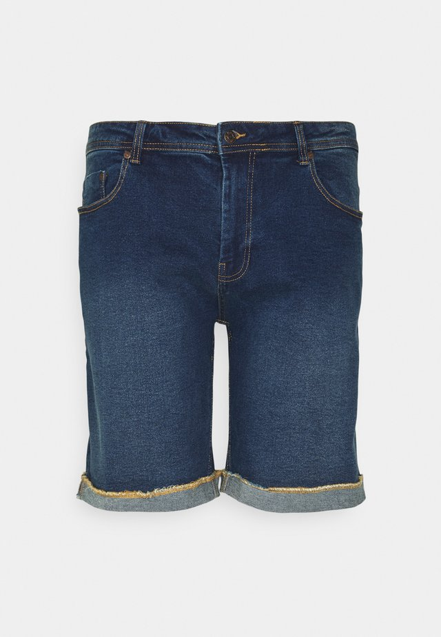 MR ORANGE - Denim shorts - dark blue