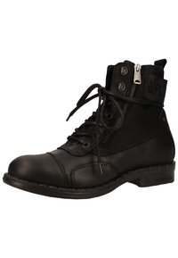 Replay - Lace-up ankle boots - black - 2