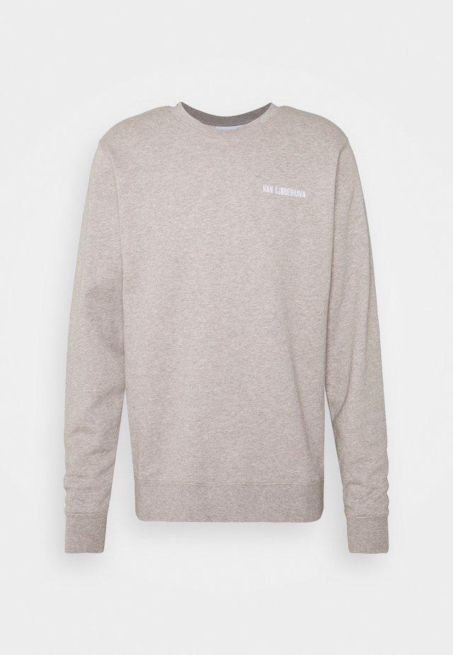CASUAL CREW - Sweatshirt - grey melange