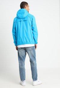 K-Way - LE VRAI CLAUDE UNISEX - Summer jacket - blue - 2