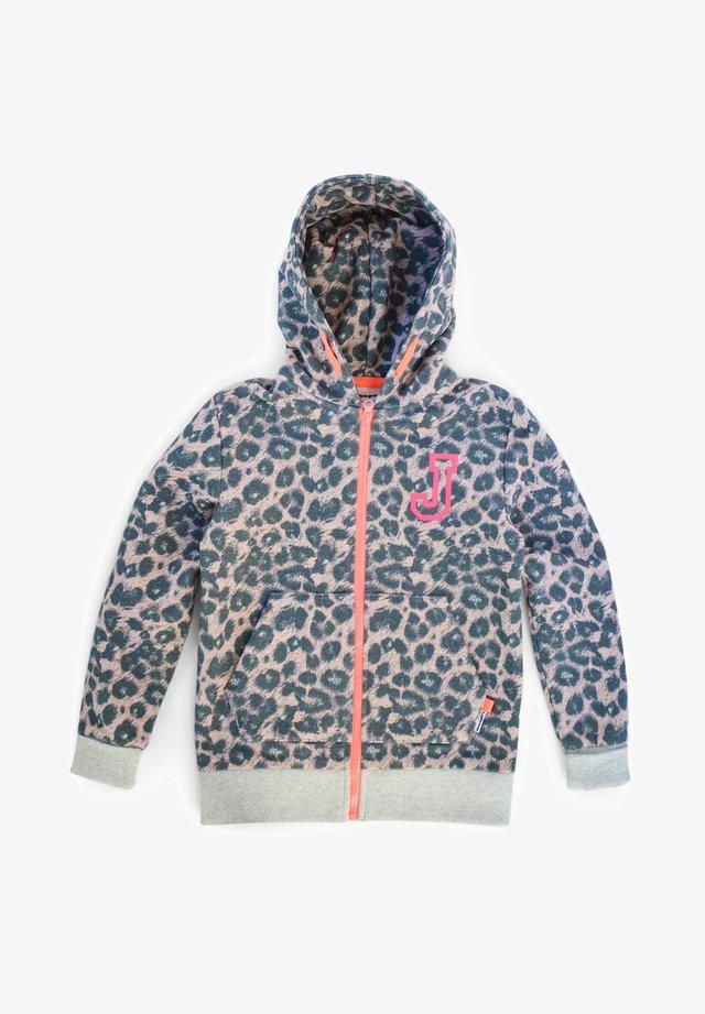 BERN - Zip-up hoodie - pink leo