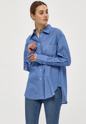 Button-down blouse - blue fog st