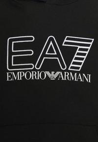 EA7 Emporio Armani - Felpa con cappuccio - black/white - 7