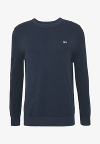 Tommy Jeans - LIGHTWEIGHT - Jumper - twilight navy - 4