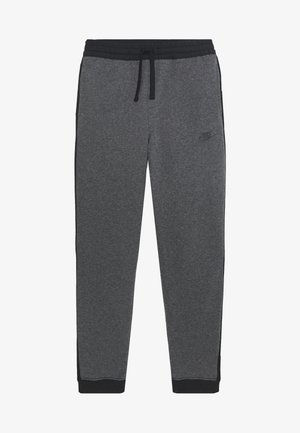 HYBRID PANT - Tracksuit bottoms - obsidian mist/football grey/track red
