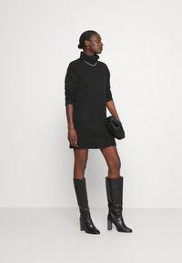 Anna Field - Abito in maglia - black - 1