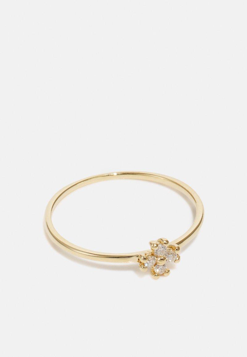 DIAMANT L'ÉTERNEL - HANDMADE FLOWER DESIGN - Ring - yellow