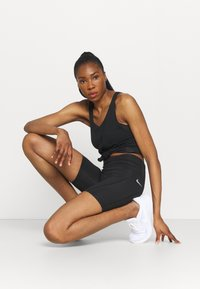 Nike Performance - FAST  - Tights - black/reflective silver - 1
