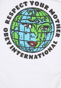 Obey Clothing - RESPECT YOUR MOTHER - Printtipaita - white - 2