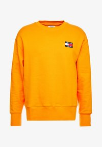 Tommy Jeans - BADGE CREW - Sweatshirt - orange - 3